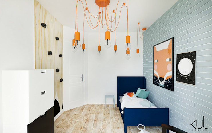 Dormitorios infantiles de estilo  por Kul design