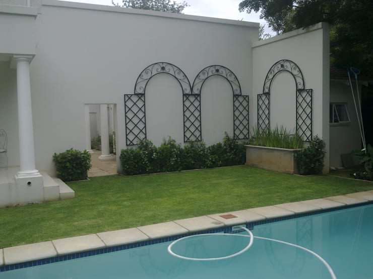 STEEL TRELLIS: classic Garden by Oxford Trellis