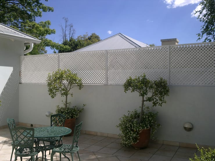 SCREEN 25mm DIAMOND:  Houses by Oxford Trellis