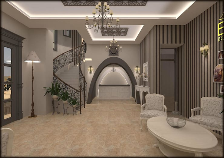 Hotel Klasik Oleh ESA PARK İÇ MİMARLIK Klasik