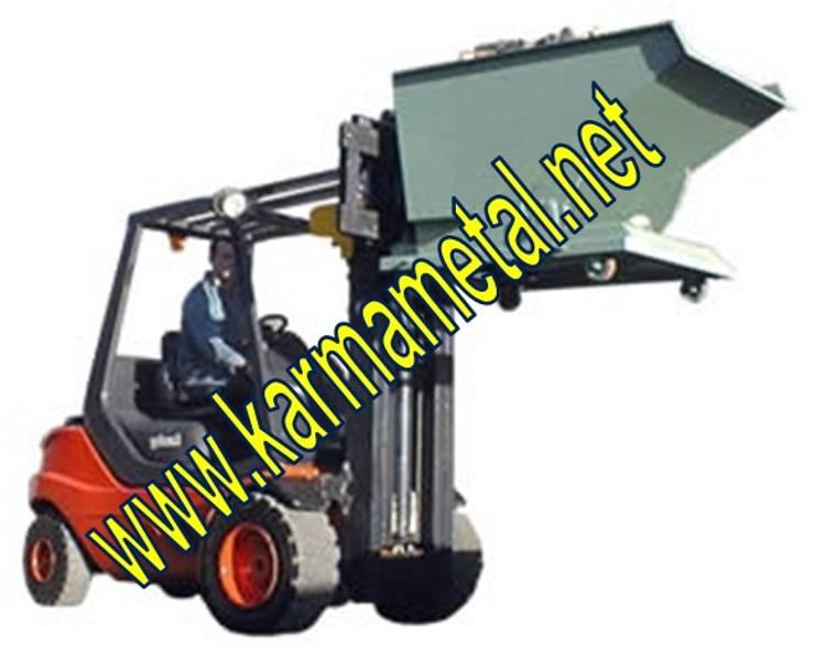 KARMA METAL – KARMA METAL -Forklift Devirme Tertibatlı Konteyner :  tarz , Endüstriyel