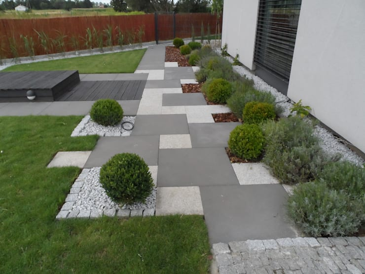 Jardines de estilo  por Empart Ogrody