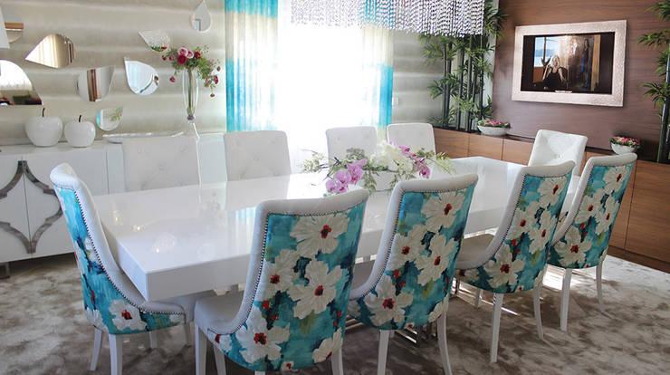 AUTUMN: Salas de jantar  por GRAÇA Decoração de Interiores
