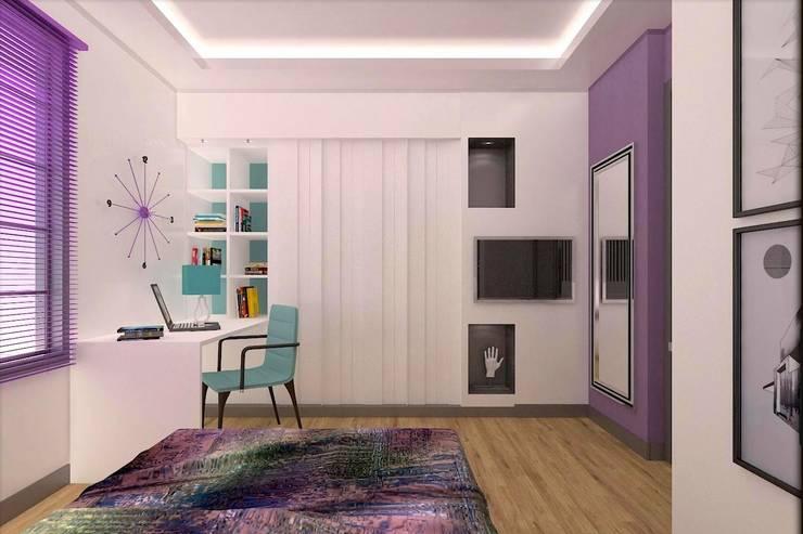 Habitaciones infantiles de estilo  por ESA PARK İÇ MİMARLIK