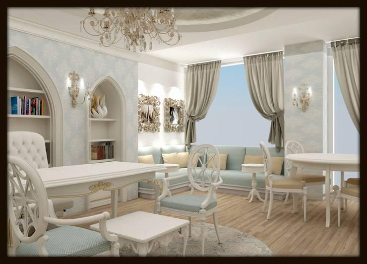 Locaux commerciaux & Magasins de style  par ESA PARK İÇ MİMARLIK,