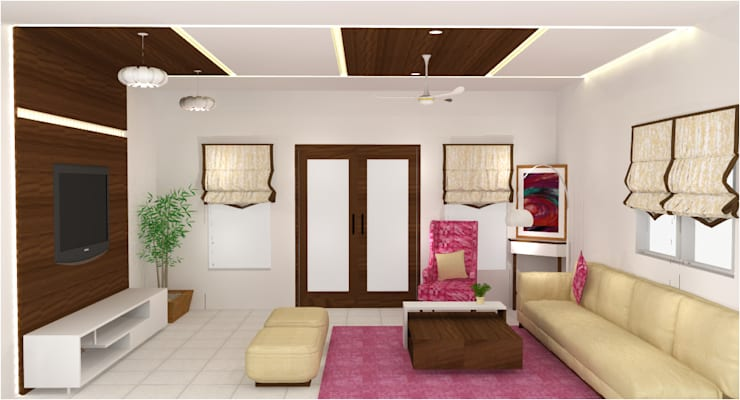 create your unique world:  Living room by Alag Interior