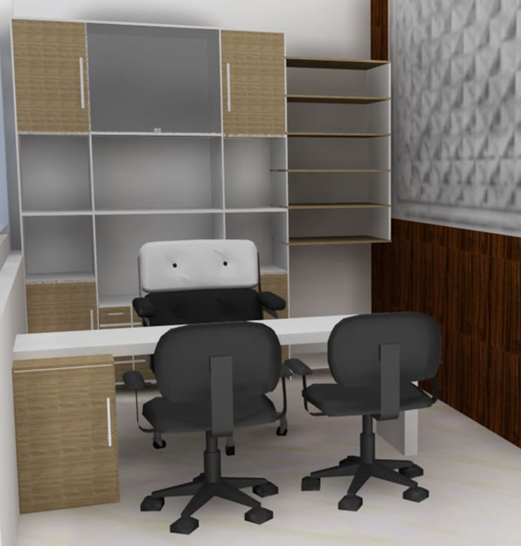create your unique world:  Study/office by Alag Interior