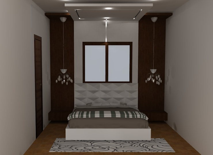 create your unique world:  Bedroom by Alag Interior