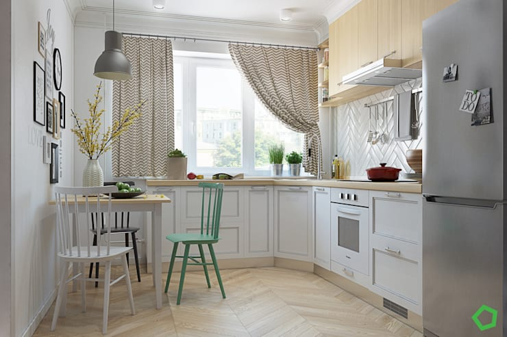 Fresh apartments: Кухни в . Автор – Polygon arch&des