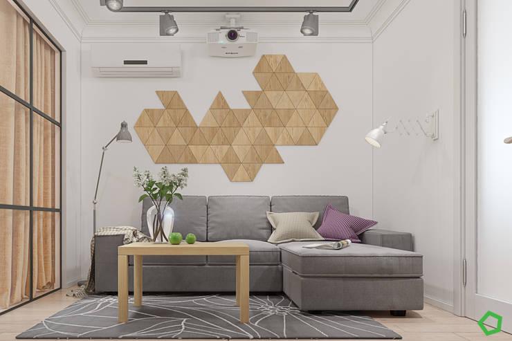 Salon de style  par Polygon arch&des