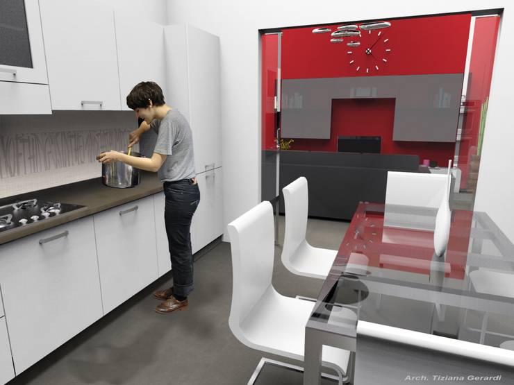 Cocinas de estilo  por ArchitetturaTerapia®, Moderno