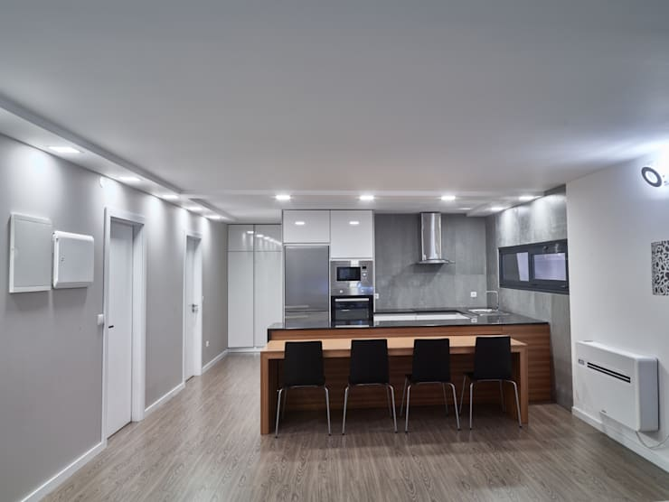Casa modular: Salas de jantar  por ClickHouse