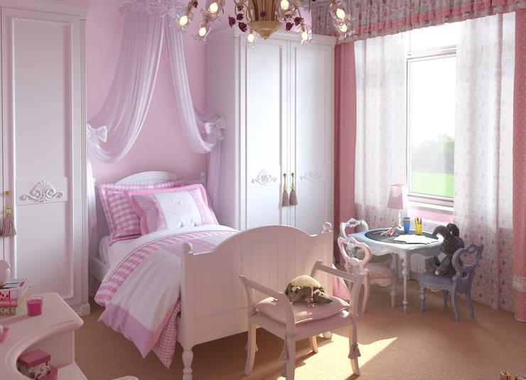 ПОДМОСКОВНЫЙ ОСОБНЯК: Детские комнаты в . Автор – D-SAV     ДИЗАЙН ИНТЕРЬЕРА И АРХИТЕКТУРА