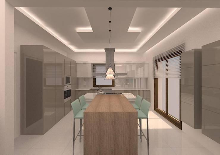 VANETTA KÜCHEN  – İLK FLORA SİTESİ-KONUT PROJESİ :  tarz Mutfak, Modern