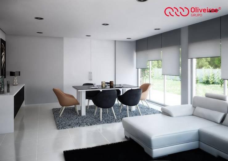 1409-DC-0115: Salas de jantar modernas por Oliveiros Grupo