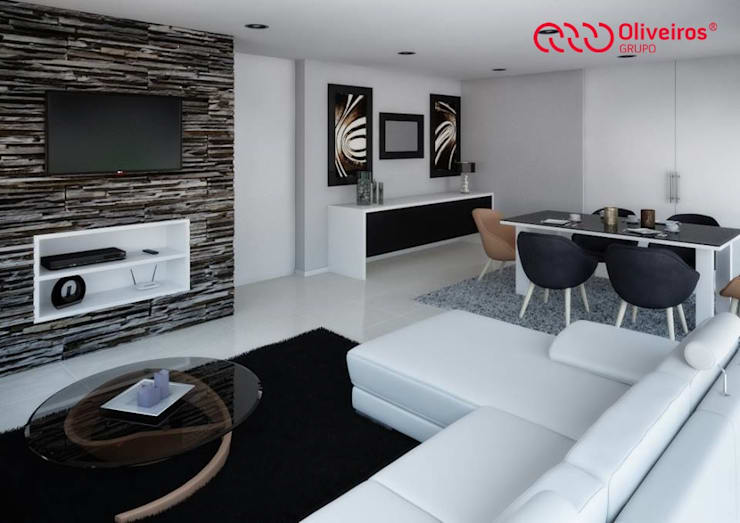 1409-DC-0115: Salas de estar modernas por Oliveiros Grupo