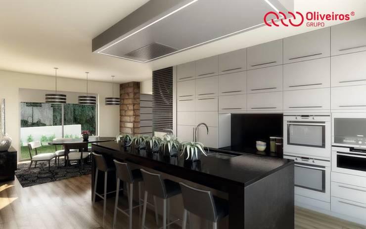 مطبخ تنفيذ Oliveiros Grupo