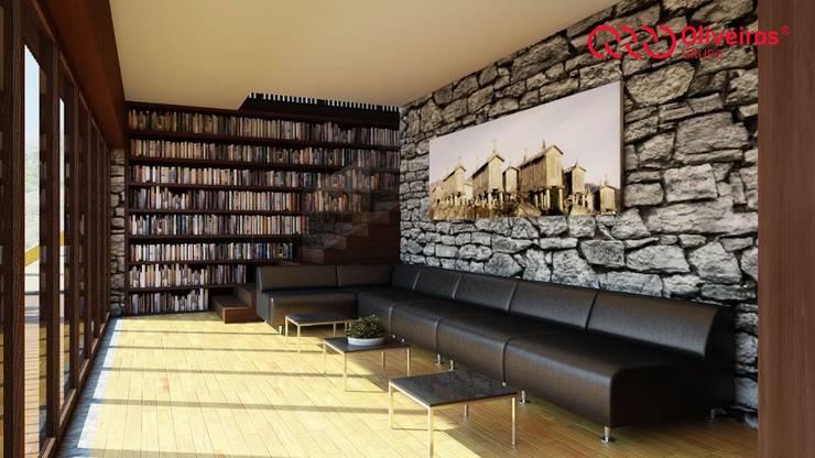 1274-RM-0812: Salas de estar  por Oliveiros Grupo