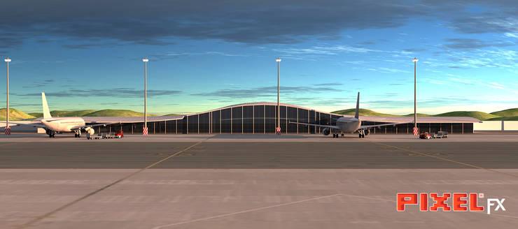 Aeroporto Angola:   por PIXELfx