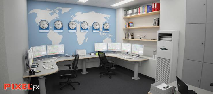 Sala de controlo - Lisboa:   por PIXELfx