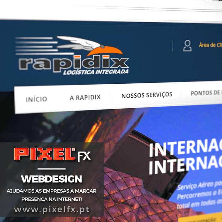 Webpage RAPIDIX.PT - webdesign:   por PIXELfx