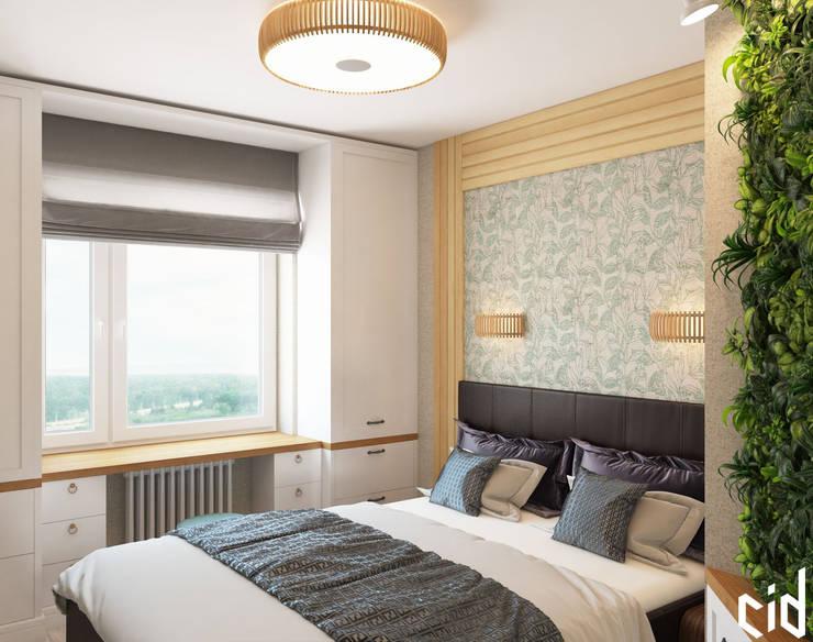 """Квартира в ЖК """"Белые Ночи"""": Спальни в . Автор – Center of interior design"""