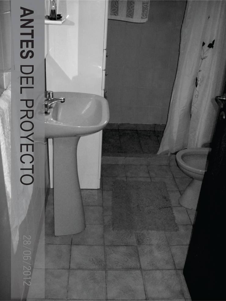 Casa CM – REFORMA VIVIENDA : Baños de estilo  por D'ODORICO ARQUITECTURA,