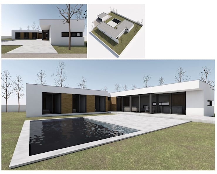 MODIKO - Construção Modular : Casas  por Modiko Estruturas de Construção, Lda