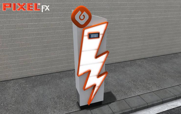 Posto carregamento eléctrico - GALP:   por PIXELfx