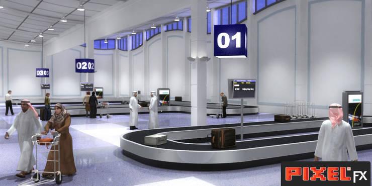 Terminal Aeroportuário - Kuwait:   por PIXELfx