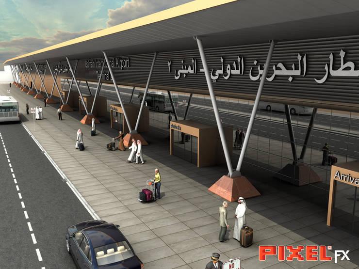 Terminal Aeroportuário - Reino do Bahrain:   por PIXELfx