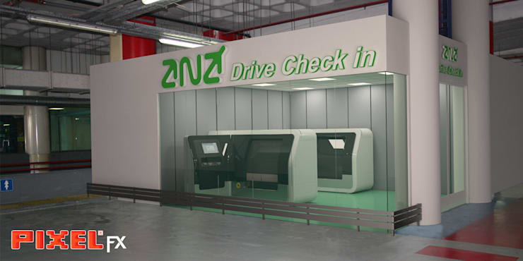 Drive Check In - ANA:   por PIXELfx
