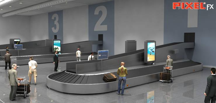 Terminal Aeroportuário - São Paulo - Brasil:   por PIXELfx