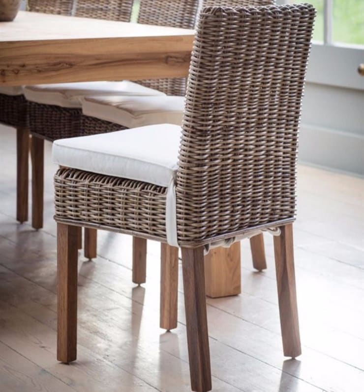 f95e47f160238 Bembridge Dining Chair with Cushions (Pair)  Dining room by Modish Living