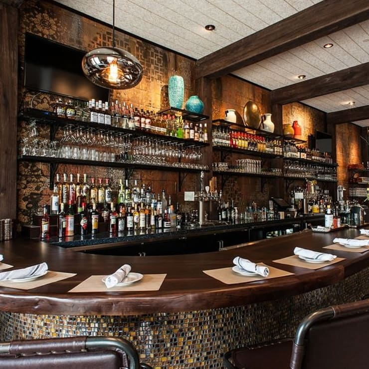 Restaurant in California :  Bars & clubs by Urban Ironcraft