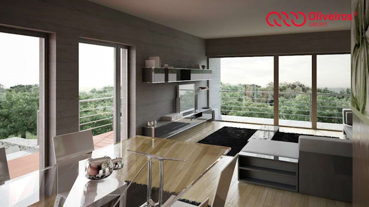 1151-JA-0710: Salas de estar  por Oliveiros Grupo