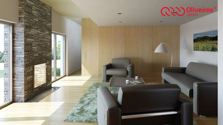 1148-SG-0710: Salas de estar  por Oliveiros Grupo