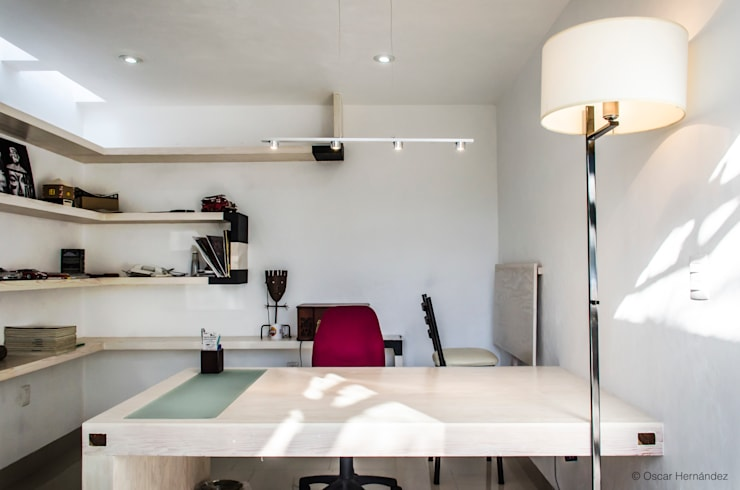 ESTUDIO /ENRIQUE QUEZADA :  de estilo  por Oscar Hernández - Fotografía de Arquitectura