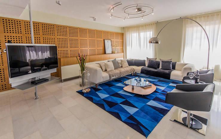 Salas de estilo moderno por NMD NOMADAS