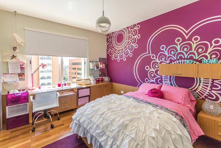 Apartamento 10A Grand Europa - NMD NOMADAS: Cuartos infantiles de estilo  por NMD NOMADAS