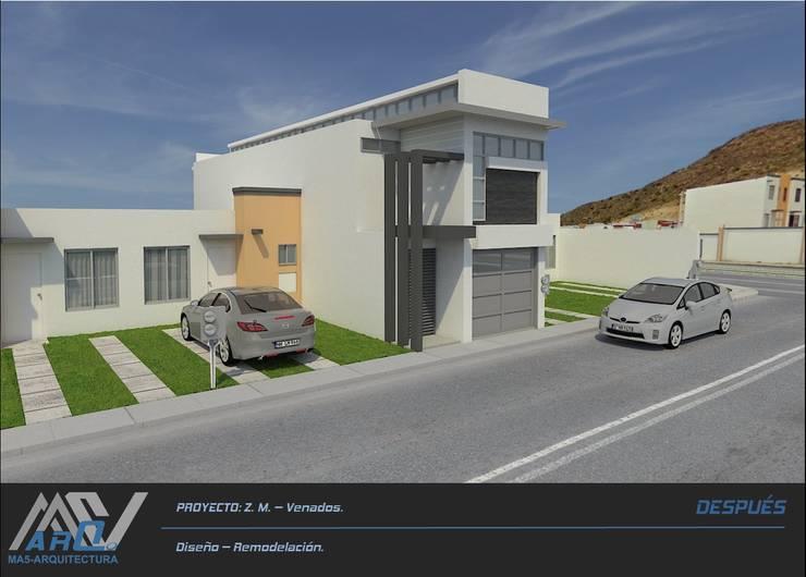 Z. M. – Hacienda Los Venados: Casas de estilo  por MA5-Arquitectura