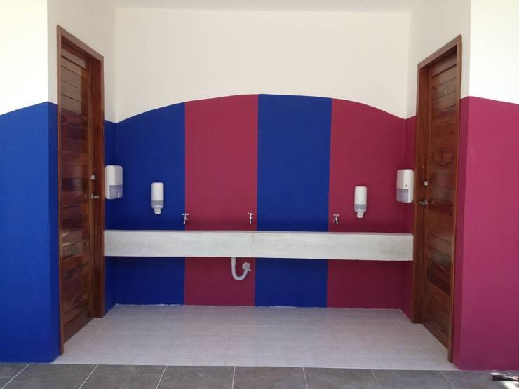 San Felipe Bacalar Instituto: Casas de estilo  por Manuel Aguilar Arquitecto