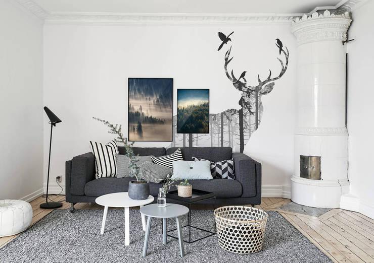 Livings de estilo escandinavo por Pixers