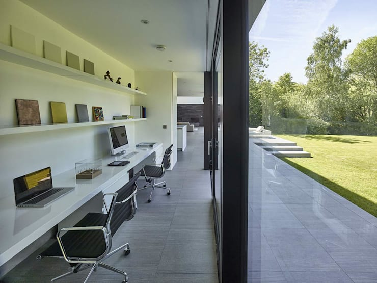 Studeerkamer/kantoor door Andrew Wallace Architects