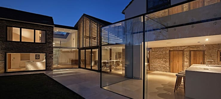 Case in stile  di Andrew Wallace Architects