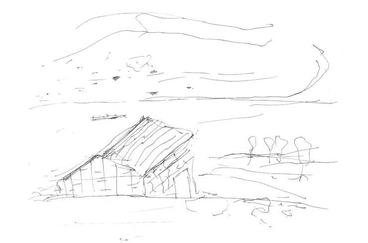 Sketch:   por RLA | RICHARD LOUREIRO ARCHITECTS