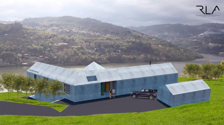 Exterior View:   por RLA | RICHARD LOUREIRO ARCHITECTS