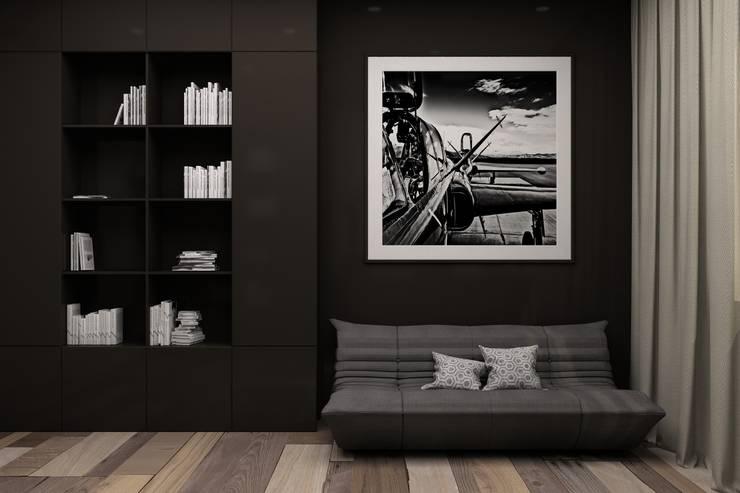 Рабочие кабинеты в . Автор – Polka architecture studio
