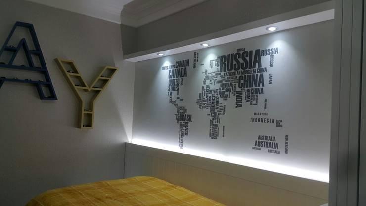 MOBİLYADA MODA  – Özel Tasarım Country Genç Odası :  tarz Çocuk Odası, Kırsal/Country Ahşap Ahşap rengi