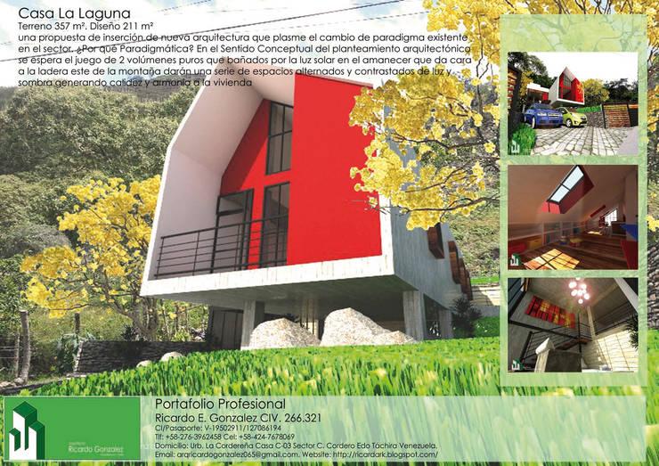 Casa La Laguna:  de estilo  por Arquitecto Ricardo Gonzalez